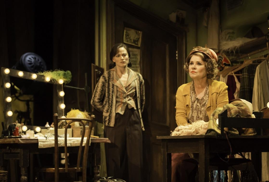Imelda Staunton and Lara Pulver in Gypsy